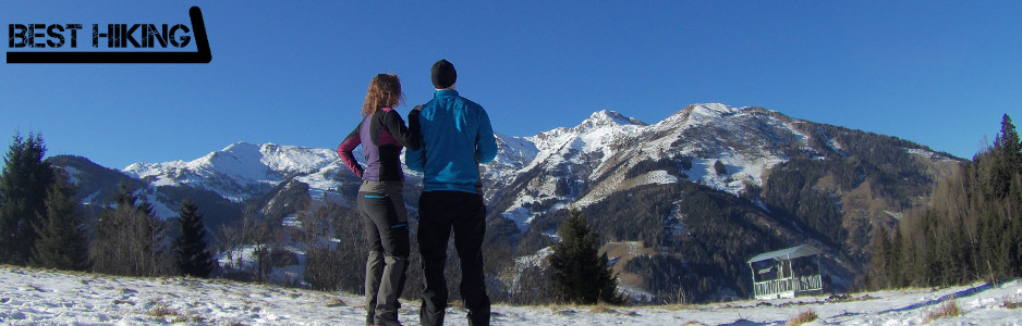 Us hiking in Austria