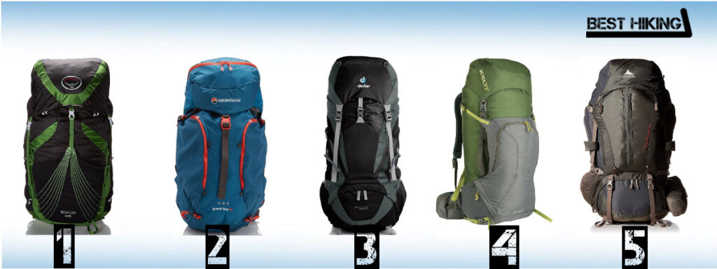 Best Hiking Backpacks 55+