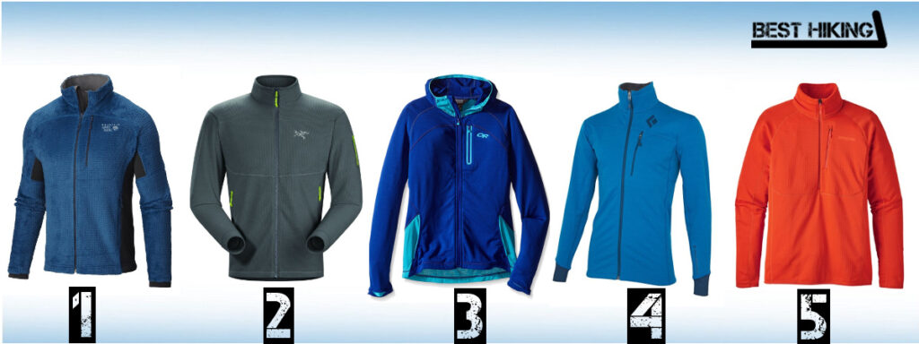 Best Hiking Fleece Jackets