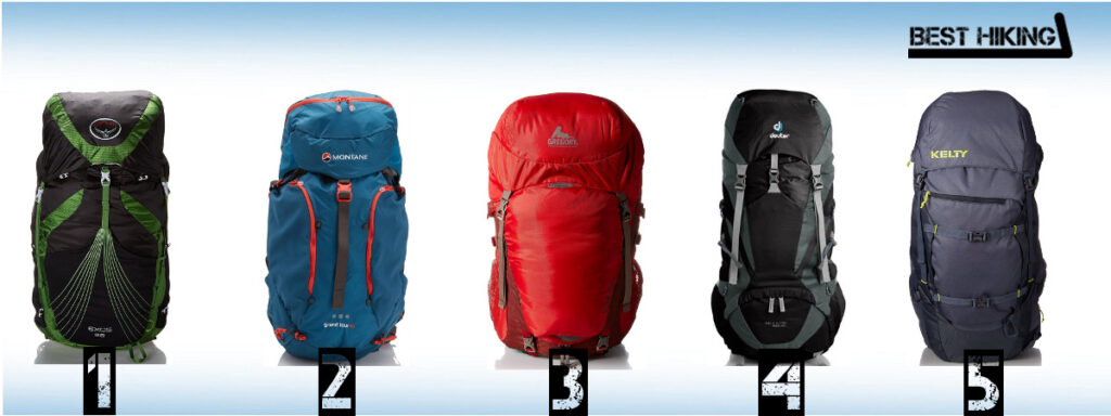 The Best Five Hiking Backpacks   55l - Best Hiking