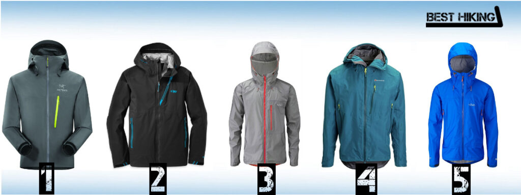 The Best Hiking Rain Jackets