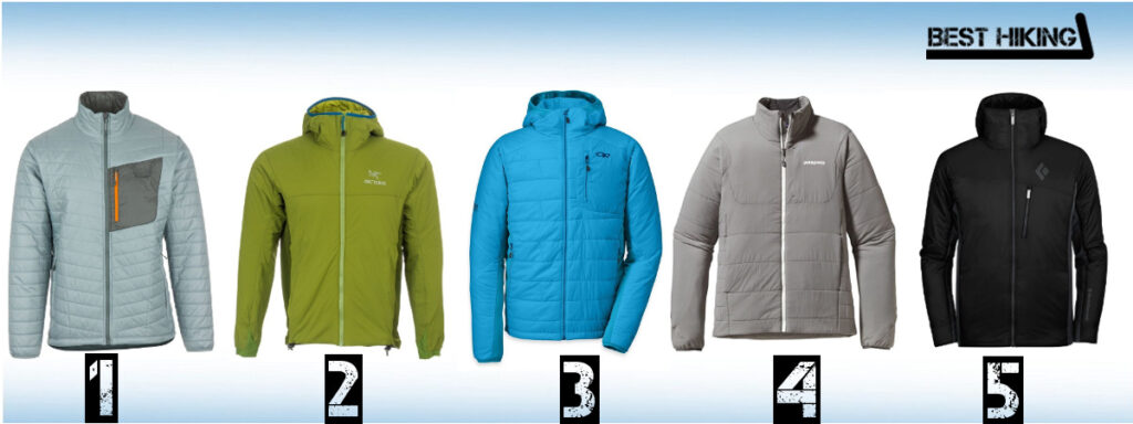 The Best Winter Hiking Jackets with Synthetic Insulation