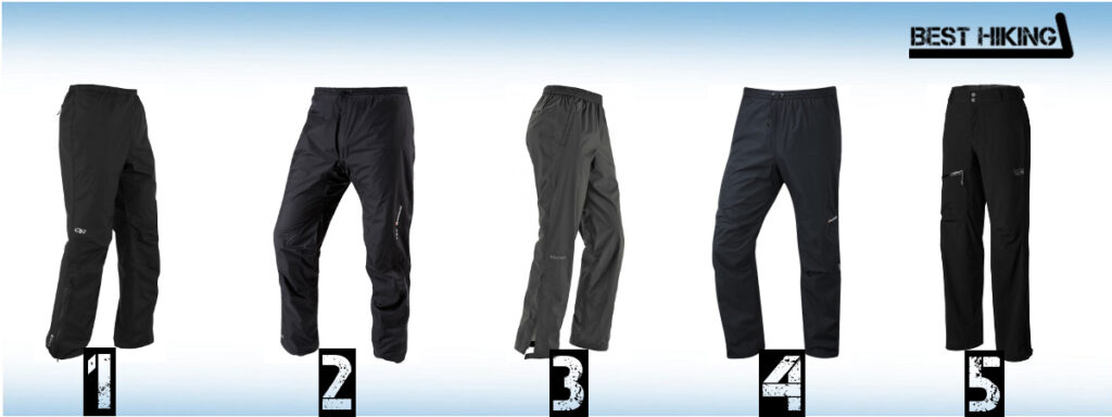 The Best Waterproof Pants