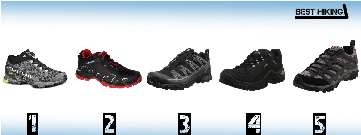 The Best Trekking Shoes for 2017 - Best Hiking