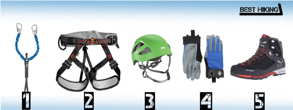 The Best Via Ferrata Equipment