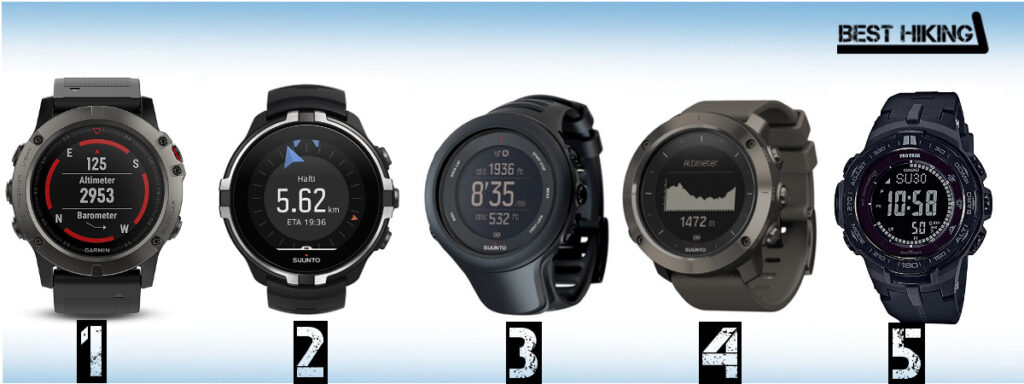 Best Hiking Watches in 2018