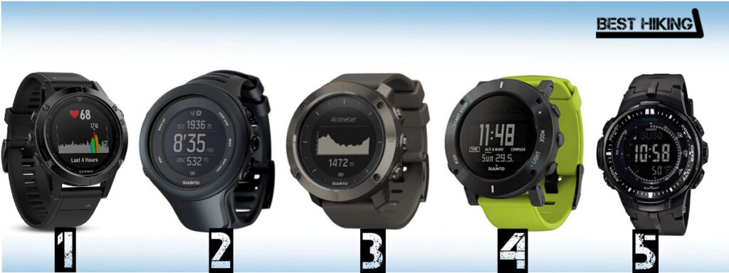 Best Hiking Watches in 2017