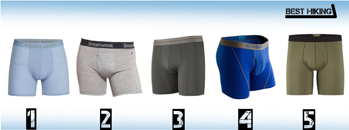 Best Hiking Boxers Shorts