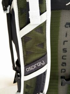 Ventilated Shoulder Straps - Osprey Talon 44