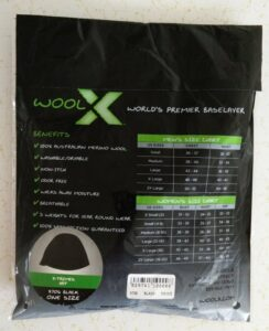 Woolx Merino Wool Hat - Packaging Back