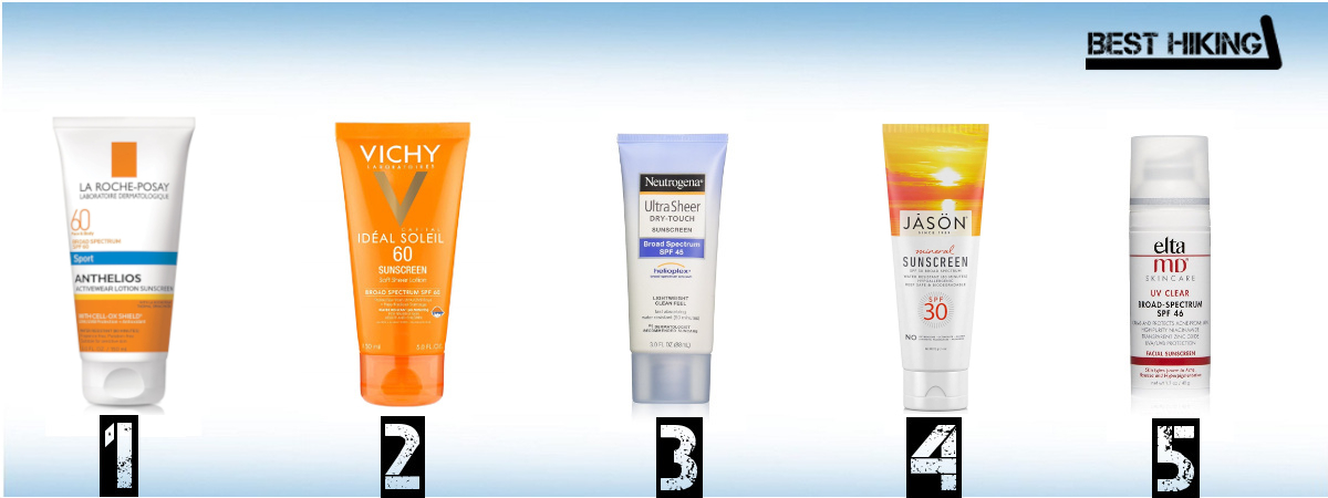 Best Sun Creams for Hiking