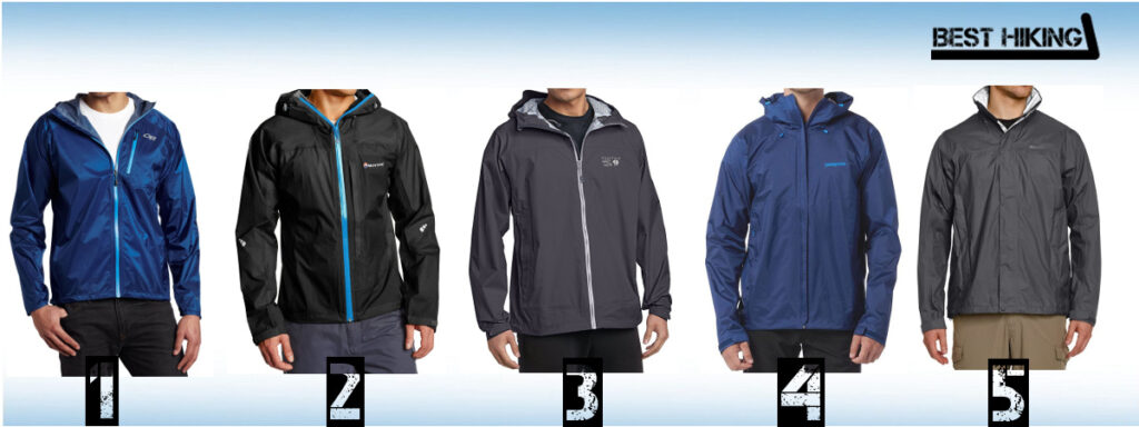 Best 2.5-layer Rain Jackets for Hiking and Trekking
