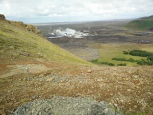 Thorbjorn Trail - A not so charming view on the Blue Lagoon