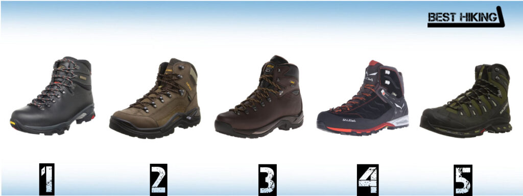 Best Mountaineering and Backpacking Boots