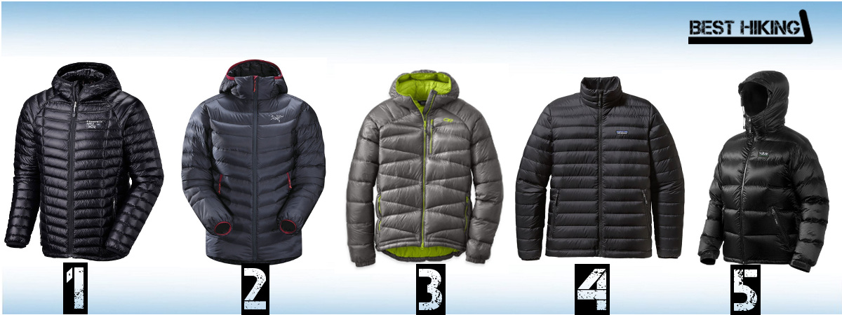 The Best Down Jackets of 2017 - Best Hiking