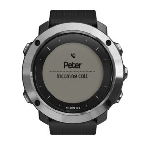 Suunto Traverse paired with a Smartphone