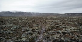 Reykjafell – Path from the highest peak towards east