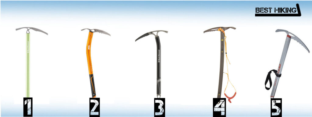 The Best Ice Axes for Hiking and Mountaineering