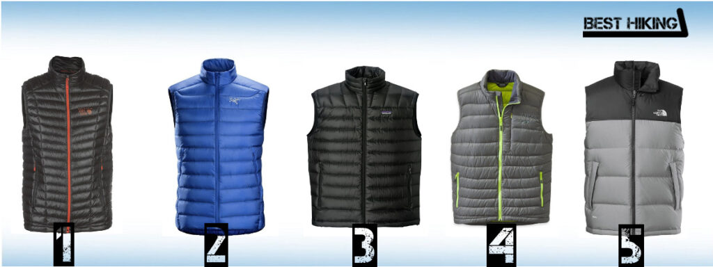 The Best Down Vests for Hiking
