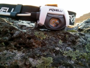 Foxelli Headlamp MX500 - Wide Narrow Beam