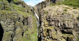 July – Glymur Waterfall