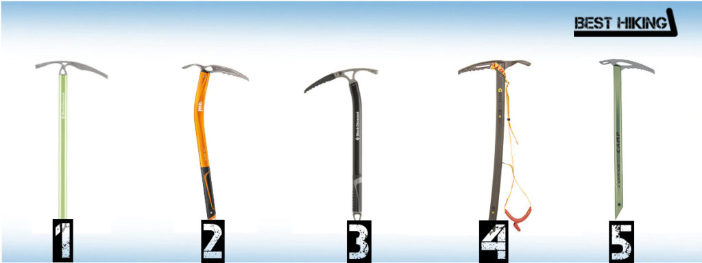 Best Ice Axes for Hiking