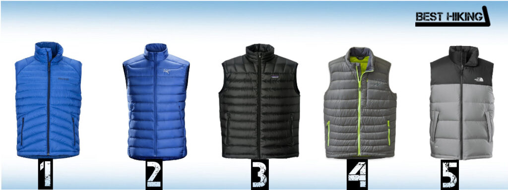 Best Down Vests for Hiking