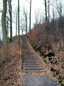 Himmelbjerget - Stairs
