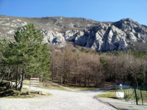 Gradiska Tura Trail - Starting point