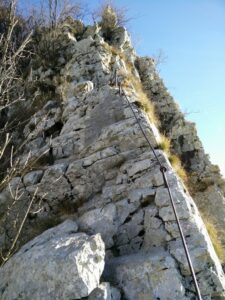 Gradiska Tura Trail - Exposed Ridge
