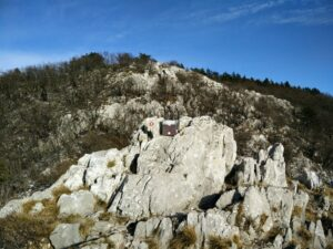 Gradiska Tura Trail - Top of the mountain