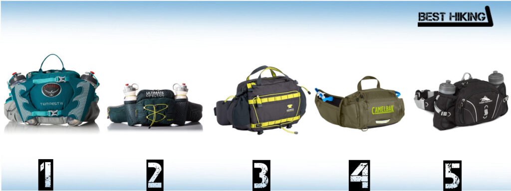 c8bc05918134 Best Lumbar Waist Packs for Hiking in 2019 - Best Hiking