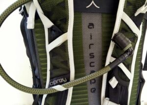 Hydration system used on Osprey Talon 44 backpack