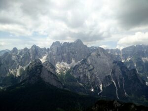 Cima del Cacciatore - View on the surrounding peaks