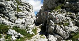 Skuta Trail – Rocky terrain from Kokrsko Sedlo onwards