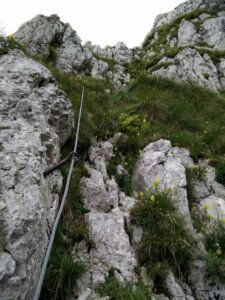Krn Trail - Last stretch to the mountain hut