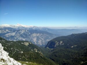 Vogel Trail - View from the top of the ridge