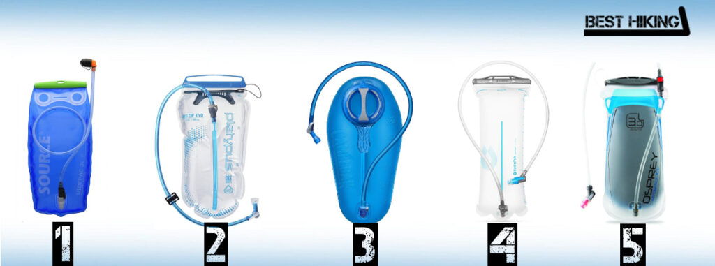 Best Hydration Bladders for Hiking