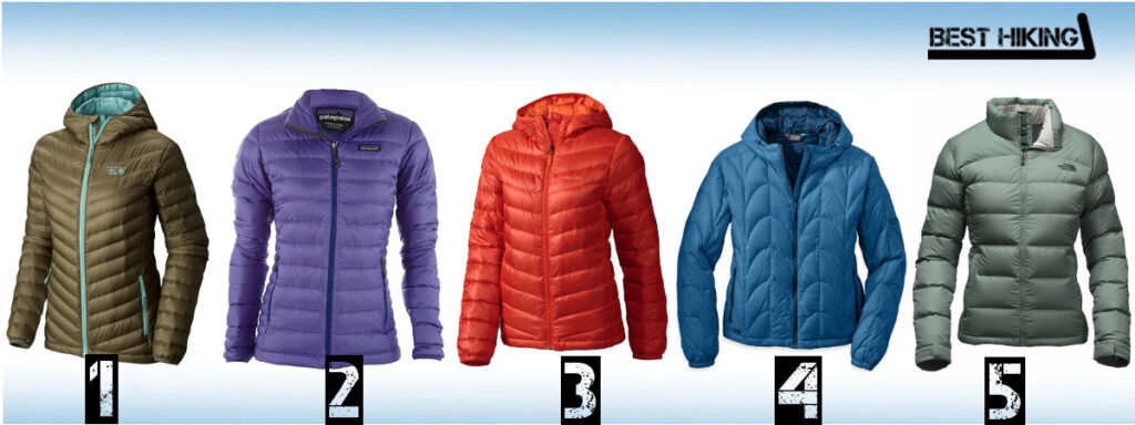 Best Down Jackets for Women - Best Hiking