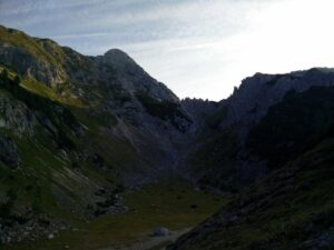 Triglav Trail -Plateau after Planina Konjscica
