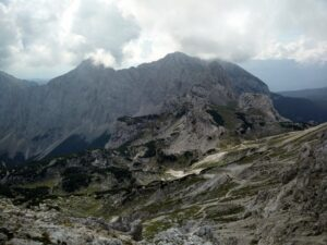 Triglav Trail - View from the trail