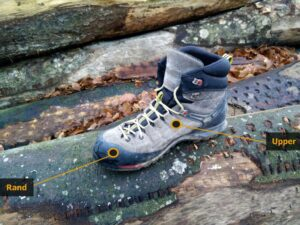Hiking Footwear Guide - Upper