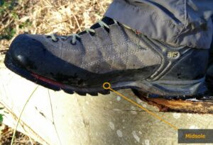 Hiking Footwear Guide - Midsole