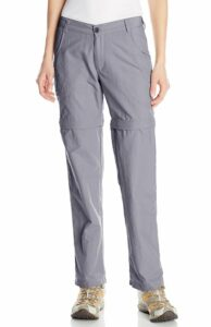 White Sierra Point Convertible Women's Hiking Pants