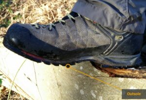Hiking Footwear Guide - Outsole