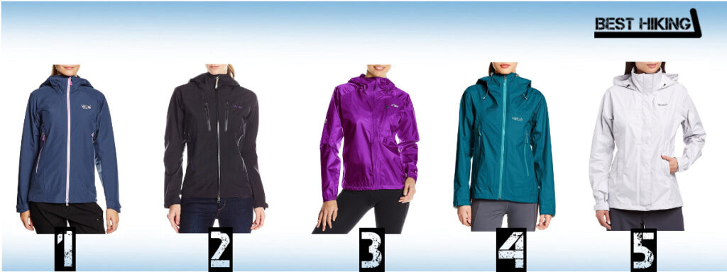 Best Women's Rain Jackets for Hiking