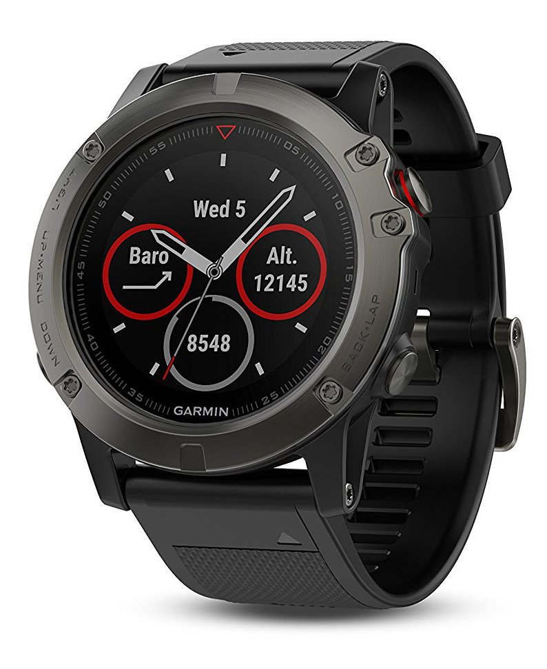 Garmin Fenix 5 – GPS Watch with Maps