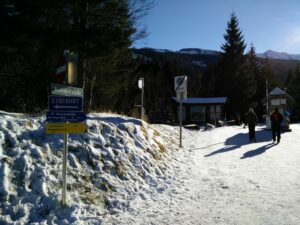 Bodenhaus - Ammererhof Trail - Small Toll Station