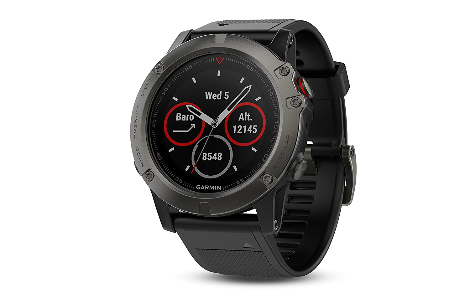 Garmin fenix 5 gps watch with maps best hiking for Watches garmin