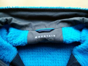 Mountain Hardwear Monkey Man - The collar uses different fabric